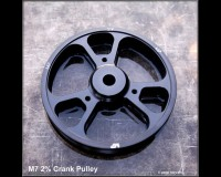 M7 TUNING 2% Crank Pulley